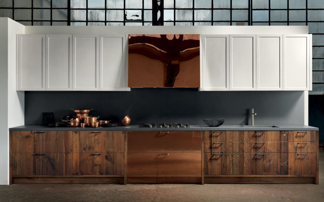 Copper in kitchens