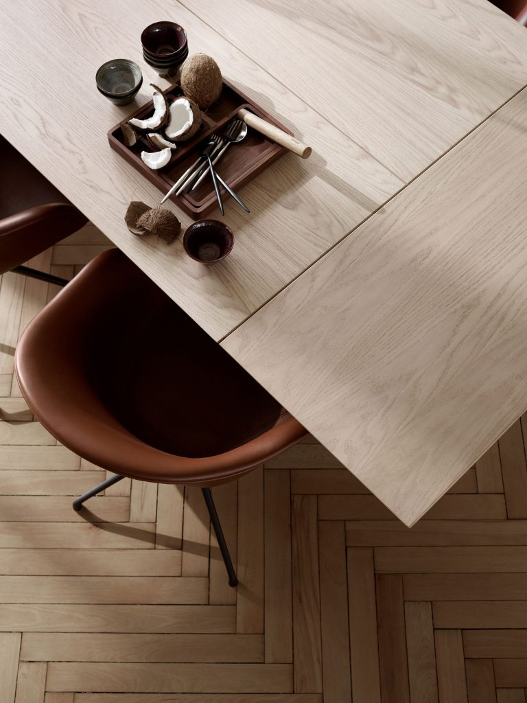 Vancouver dining table and Adelaide chair by BoConcept
