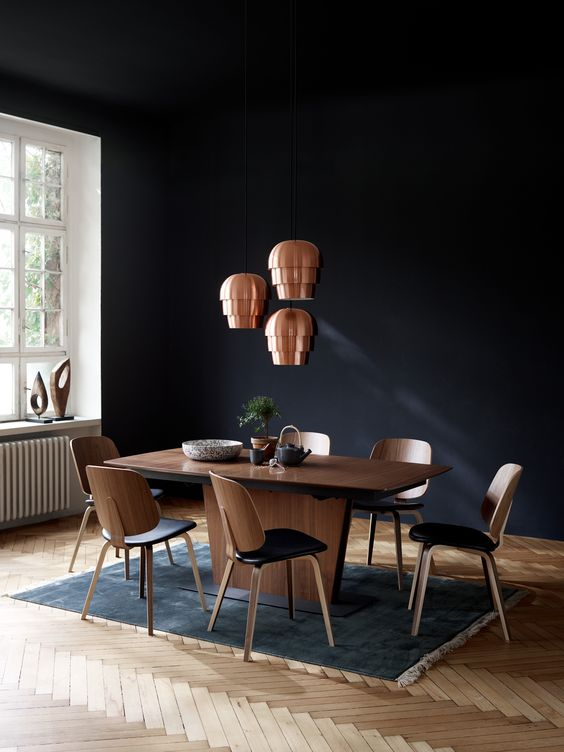 Milano extendable dining table