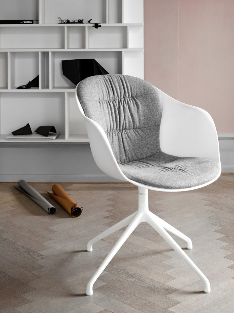 Adelaide chair with stitched insert by BoConcept